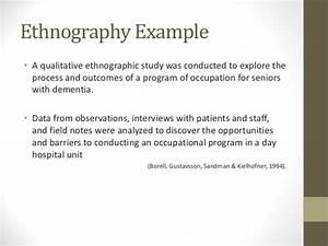 Ethnographic essay examples persuasive speech help ethnographic ...