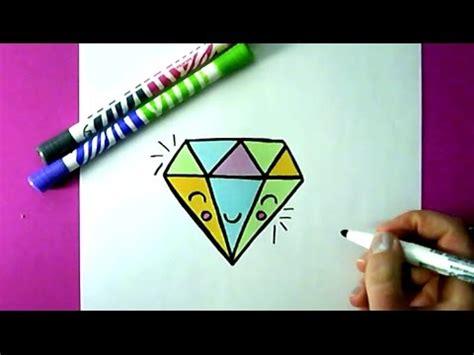 bilder selber malen einfach einen diamanten selber malen diy zeichnen lernen