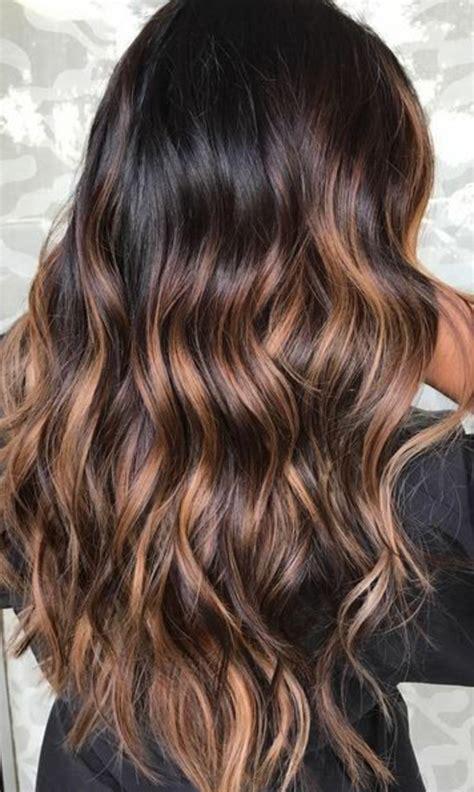 Cheveux Brun Meche 1001 Variantes Du Balayage Caramel Pour Sublimer Votre Coiffure