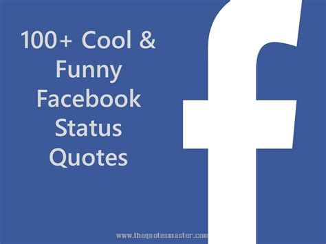 100+ Cool & Funny Facebook Status Quotes. Quotes That Cut Deep. Happy Gilmore Quotes Chubbs. Funny Quotes Life. Beach Rock Quotes. Summer Weather Quotes. Harry Potter Quotes Up To No Good. Bible Quotes Loss. Great Quotes To Live By Love