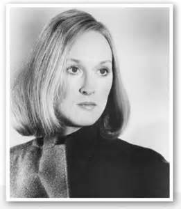 Meryl Streep When Young