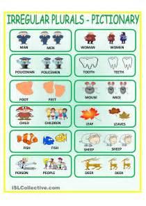 English Irregular Plural Nouns