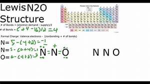 N2O Lewis Structure - YouTube