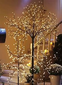 Weihnachtsbeleuchtung Außen Baum : led baum in verschiedenen ausf hrungen gartenbeleuchtung bader ~ Orissabook.com Haus und Dekorationen