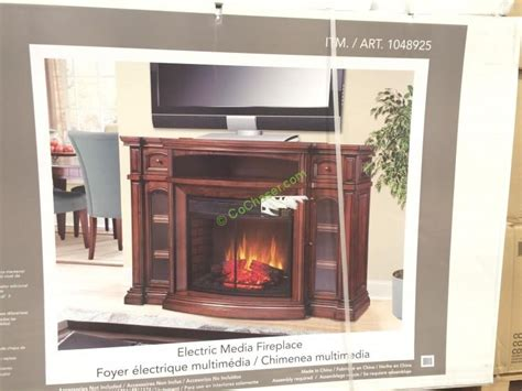 universal  electric fireplace media mantle