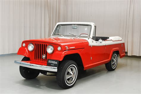 jeep convertible white 1968 jeep jeepster convertible hyman ltd classic cars