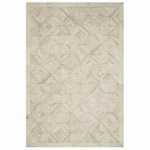 tapis de luxe beige en peau de vache cuir authentique With tapis peau de vache avec plaid canapé but
