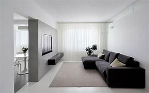 Дизайн двухкомнатной квартиры в стиле минимализм фото