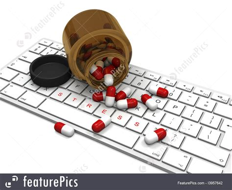 Anti-stress Pills Stock Illustration I3957642 At Featurepics