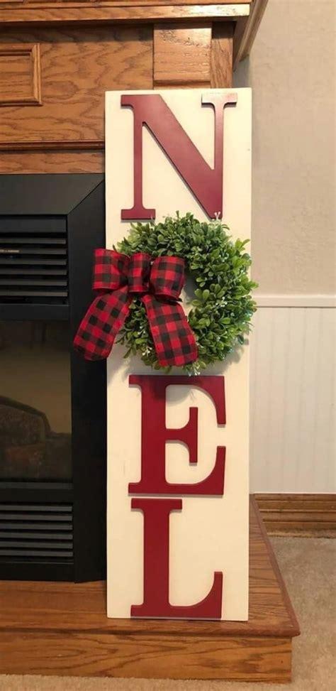 unique diy wooden signs  christmas decorating diy