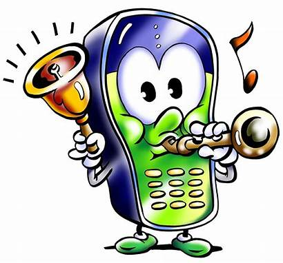 Phone Cell Message Ringing Clip Monday Clipart