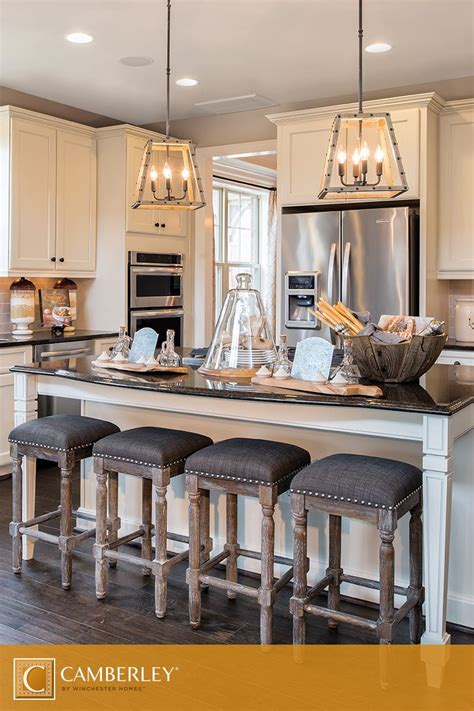 Rustic Chandeliers, Perfectly Hung Above The Landon's
