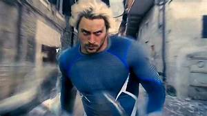 QuickSilver Running Scenes - Avengers: Age of Ultron ...