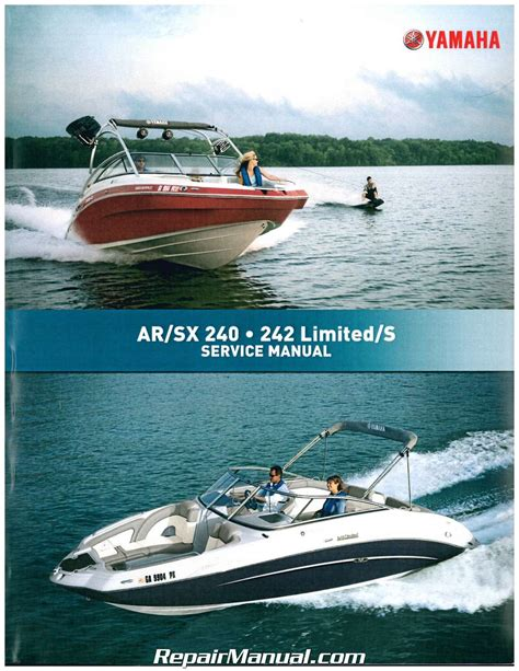 Boat Service Manuals by 2010 2011 Yamaha Sxt1800 242 Limited S Ar240 Sx240 High