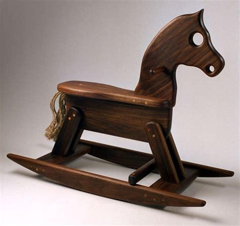 wooden rocking horse plans build   build diy