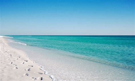 gulf coast florida beach sand pearly white sugar sand