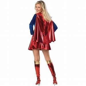 Supergirl Deluxe Adult Women's Costume | Costumes.com.au
