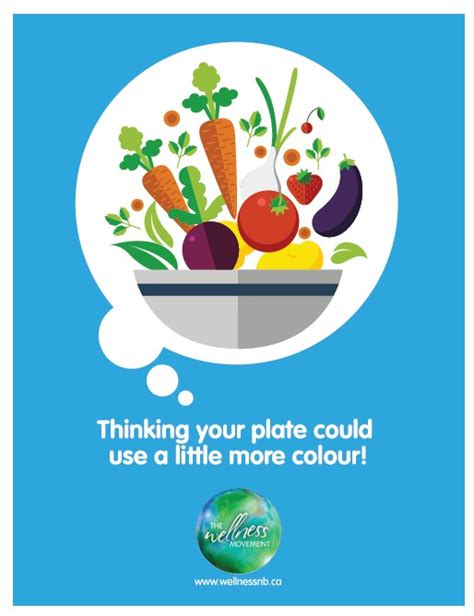 wellness poster healthy eating