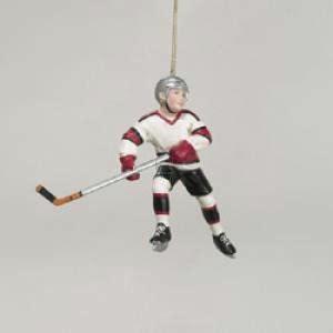 amazon com kurt adler hockey player christmas ornament