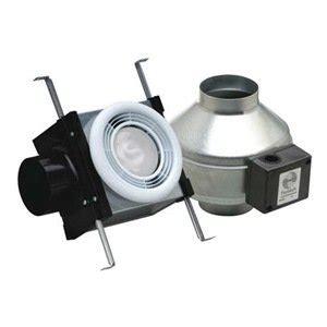 Duct Free Bathroom Fan With Light by Fantech Pb110f Bathroom Exhaust Fan 4 Quot Duct 110 Cfm