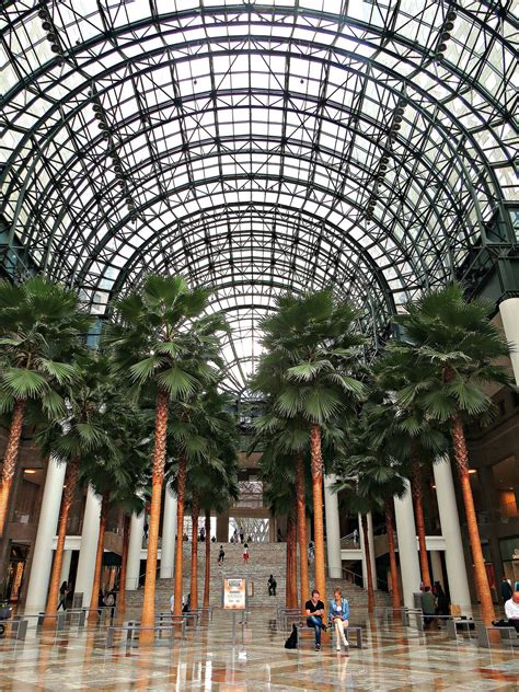 Winter Garden City by Winter Garden Atrium Brookfield Place 200 Vesey