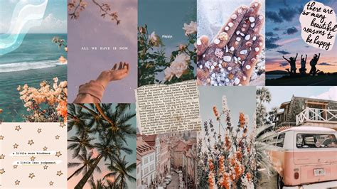 aesthetic winter collage laptop wallpapers