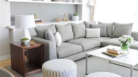 decoracion de salones gris  blanco youtube