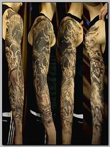 Tatouage Bras Complet Homme : tatouage bras homme complet mod les et exemples ~ Dallasstarsshop.com Idées de Décoration