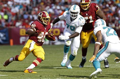 redskins  dolphins offensive grades page