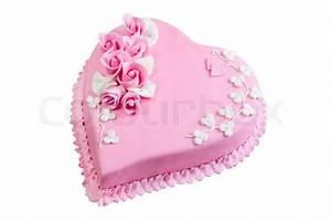 Valentinstag Kuchen In Herzform : rosa kuchen herzen zum valentinstag geburtstage isoliert stockfoto colourbox ~ Eleganceandgraceweddings.com Haus und Dekorationen