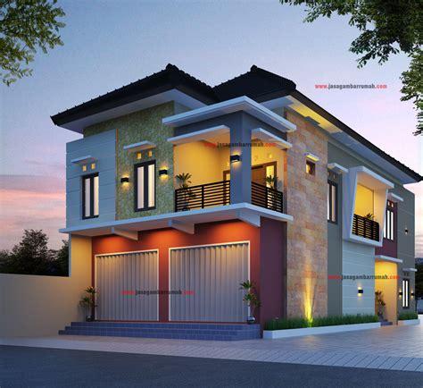 beragam model desain rumah 2 lantai minimalis klasik yg