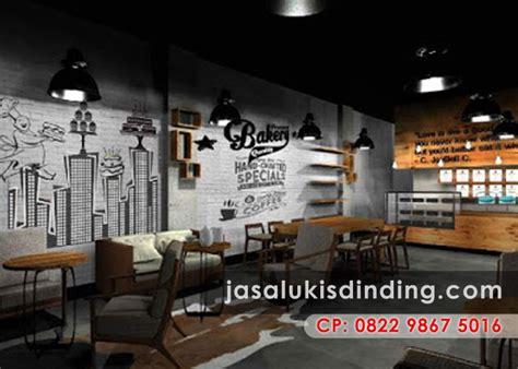 lukisan cafe  restoran