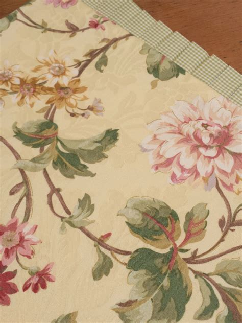 yellow gold table runner floral table runner soft buttery yellow gold pink mauve