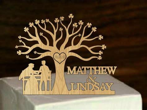 wedding cake topper silhouette  custom