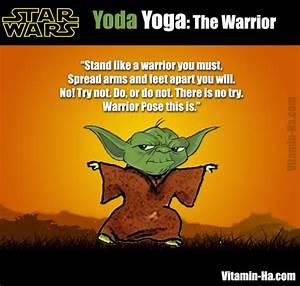 Yoda Yoga The Warrior Pose