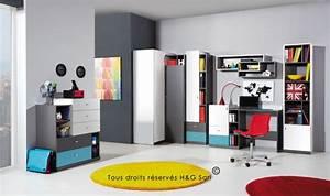 Commode D Angle Chambre : vente armoire d 39 angle ado pour chambre enfant mobilier pas cher ~ Teatrodelosmanantiales.com Idées de Décoration