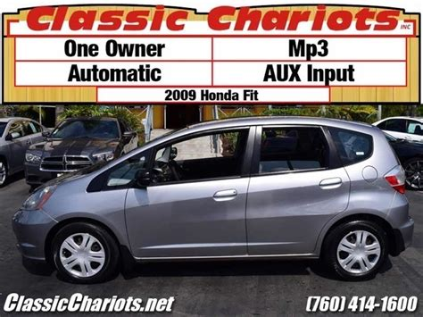 2009 Honda Fit With One Owner