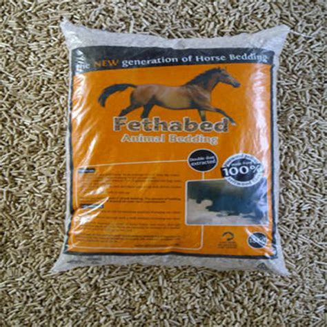 fethabed wood pellet bedding for sale from midland bio energy