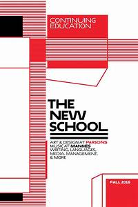 The new school continuing education catalog fall 2016 for Sponsor fill your fall with art and design certificates at parsons