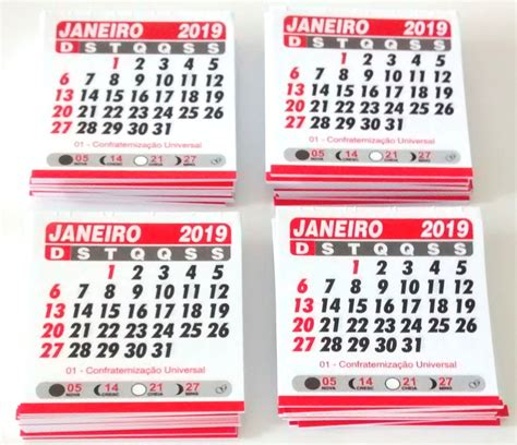 mini bloco de calendario cm bloquinho elo
