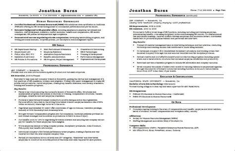hr generalist resume sample monstercom