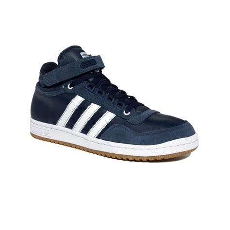 lyst adidas concord mid sneakers  blue  men
