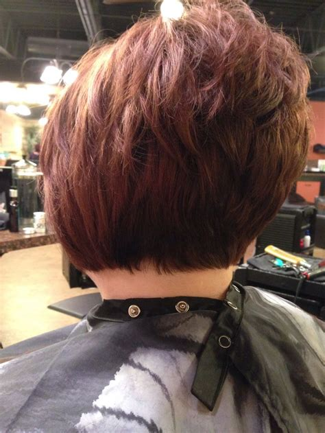 inverted bob haircut awesome stack    athair