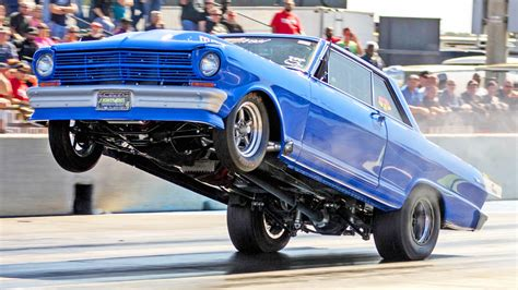 fueltech race cars lights out 7 check out the craziest wheelies from the awesome light out