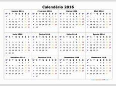 Numero De Semanas En Calendario 2016 Calendar Template 2018
