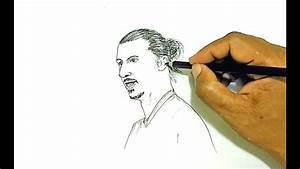 How To Draw Zlatan Ibrahimovi U0107