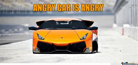 Angry Car Iz Angry By Bakoahmed