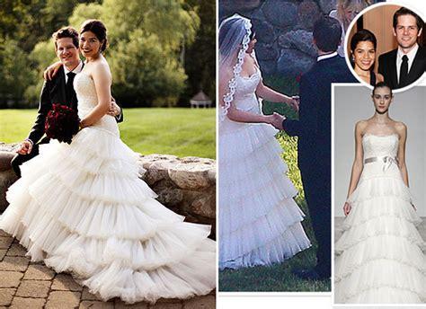 preowned wedding dress america ferrera wedding dress archives bravobride bravobride