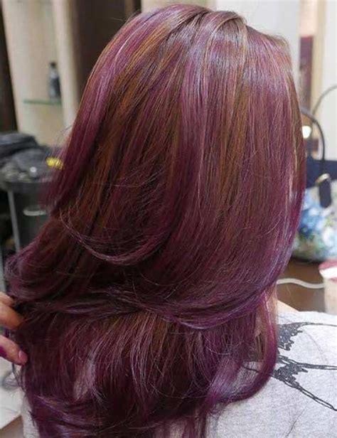 Pretty Purple Highlights Ideas For Dark Hair