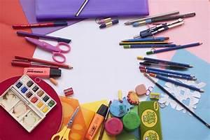 Painting And Drawing Tools Set  U00b7 Free Stock Photo